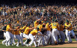 2012  American League West Champion Oakland Athletics