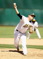 Andrew Bailey with Oakland